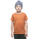 Houdini Kids Activist Message Tee Saddle Brown